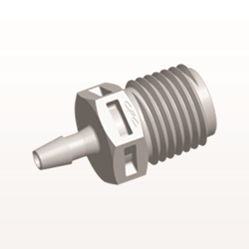 Straight Connector, Barbed, Natural - N8S4