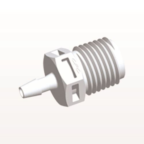 Straight Connector, Barbed, White - N8S430