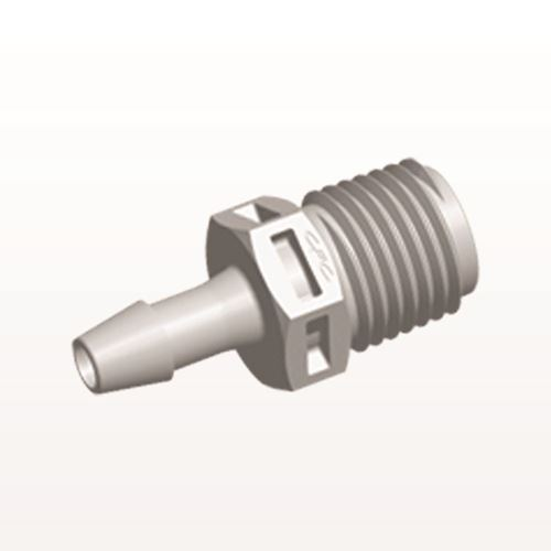 Straight Connector, Barbed, Natural - N8S6