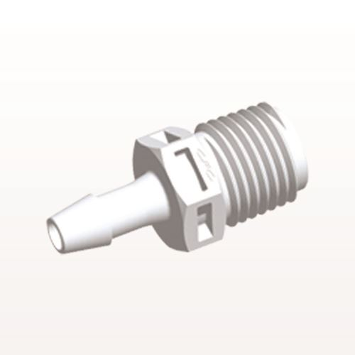 Straight Connector, Barbed, White - N8S630