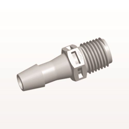 Straight Connector, Barbed, Natural - N8S10