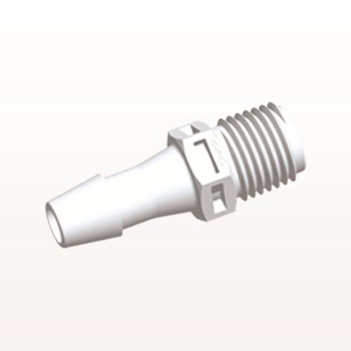 Straight Connector, Barbed, White - N8S1030