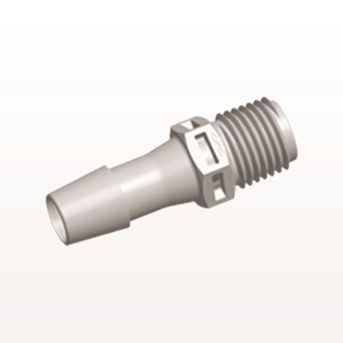 Straight Connector, Barbed, Natural - N8S12
