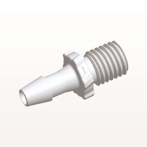 Screw-type Connector, White, 5/16 UNF Thread with Barb - GS520