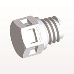 Plug, White - MP30
