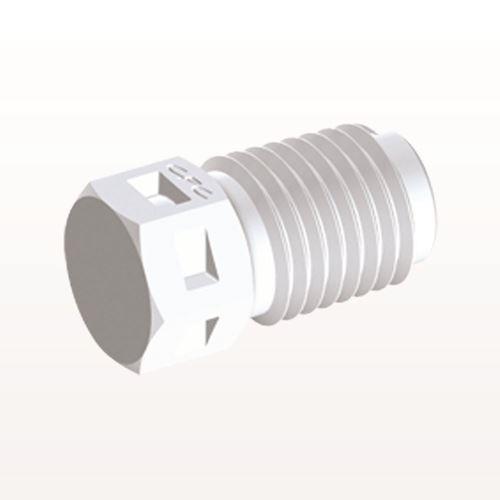 Threaded Plug, White - N2P30