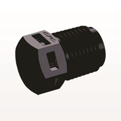 Threaded Plug, Black - N4P31