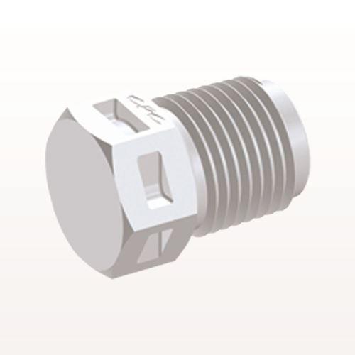 Threaded Plug, White - N4P30