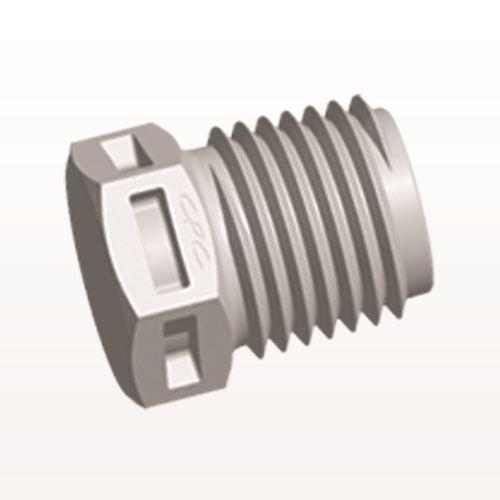 Threaded Plug, Natural - N8P