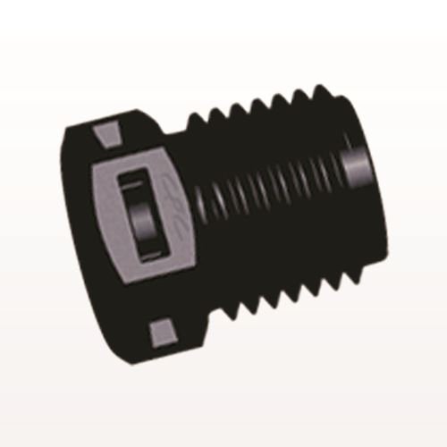 Threaded Plug, Black - N8P31