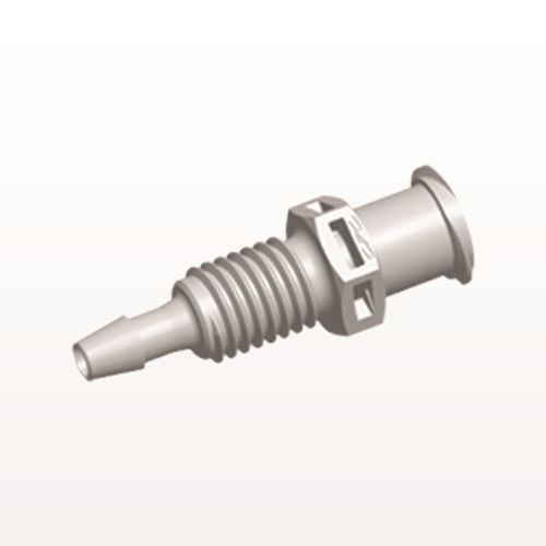 Female Luer Lock to Panel Mount with Barb, Natural - PMLF31