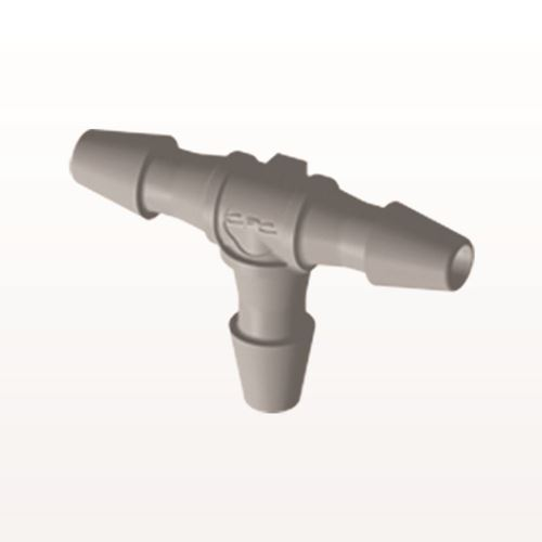 T Connector, Barbed, Natural - HT2