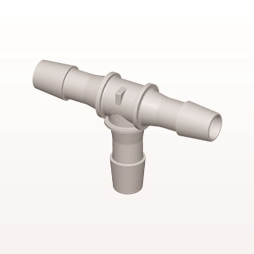 T Connector, Barbed, Natural - HT12