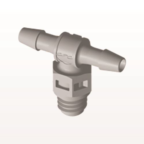 T Connector, Barbed, Natural - MT3