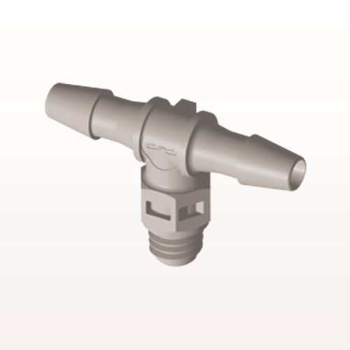 T Connector, Barbed, Natural - MT4