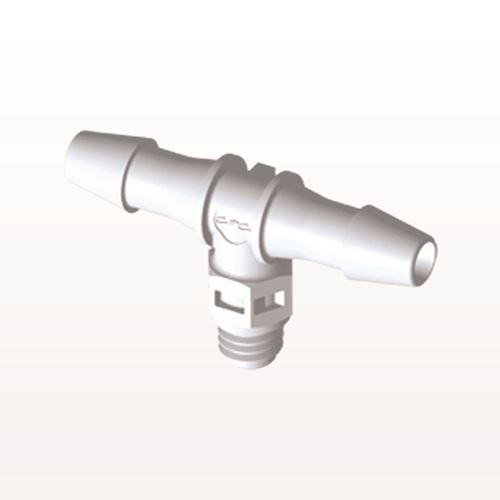 T Connector, Barbed, White - MT530