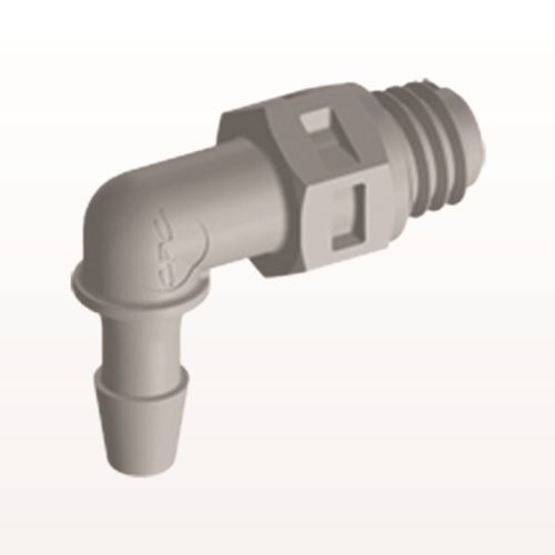 Elbow Connector, Barbed, Natural - ME3