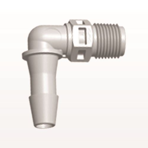 Elbow Connector, Barbed, Natural - N4E8
