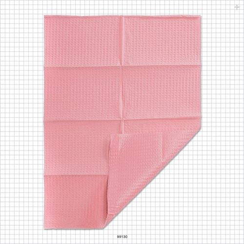 Graham HandsDown® 2 Ply Dental Bib, Pink - 99130