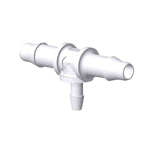 T Connector, Barbed, White - HTR7430
