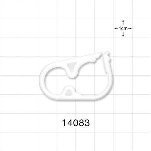 Ratchet Style Pinch Clamp, Natural - 14083