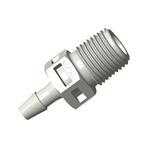 Straight Connector, Barbed, Natural - BT4S470
