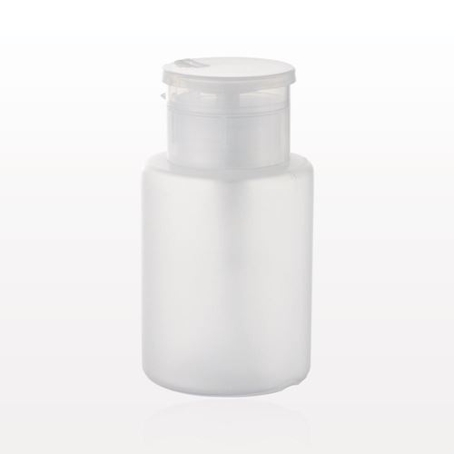 One-Touch Dispensing Bottle with Flip Top Cap, Natural - 29502