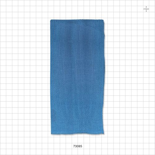 Blue Cotton Towel, 4 Sides Sewn, 100/Box - 73085