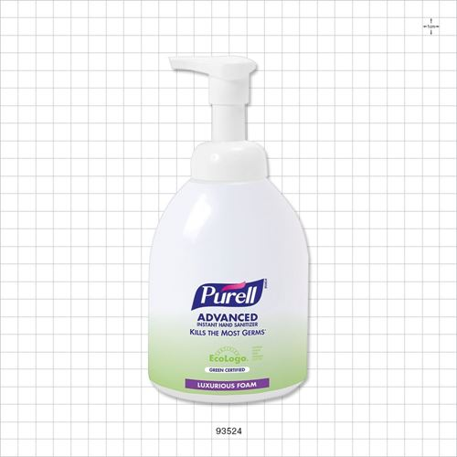 Purell® Advanced Green Certified Instant Hand Sanitizer Foam - 93524