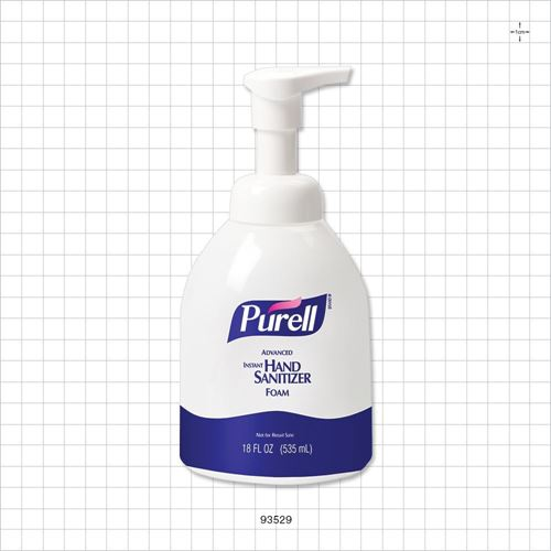Purell® Advanced Instant Hand Sanitizer Foam - 93529