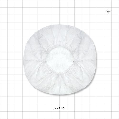 Disposable Bouffant Cap, White - 92101
