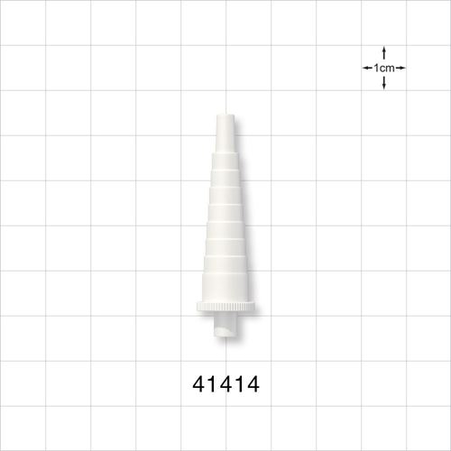Stepped Connector, White - 41414