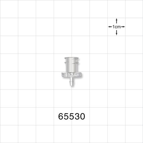 Female Luer Lock to Barb Connector - 65530
