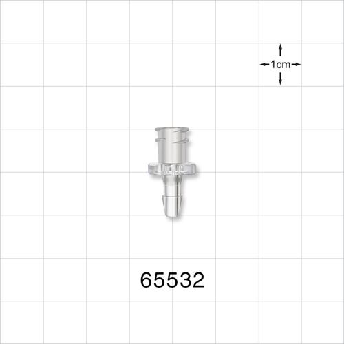 Female Luer Lock to Barb Connector - 65532