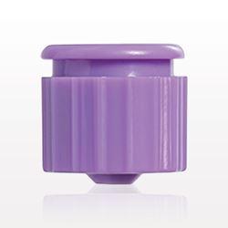Male ENFit Cap,Non-Vented, Purple - 40096