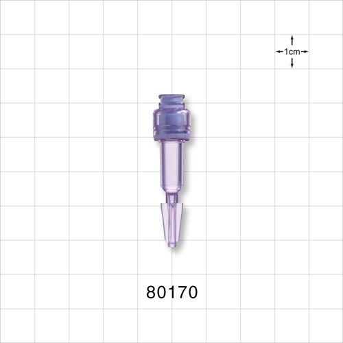 Needleless Injection Site, Swabbable with Break-Off Tip - 80170