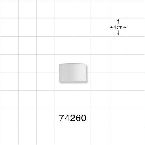 Screw Cap, White for 74249, 74250, 74251, 74252, 74253, 74254 - 74260