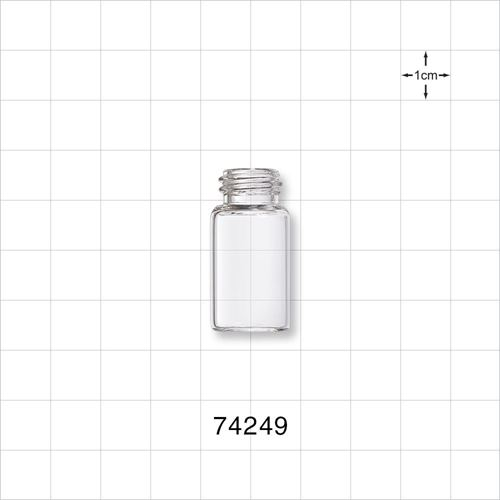 Glass Bottle, Clear - 74249
