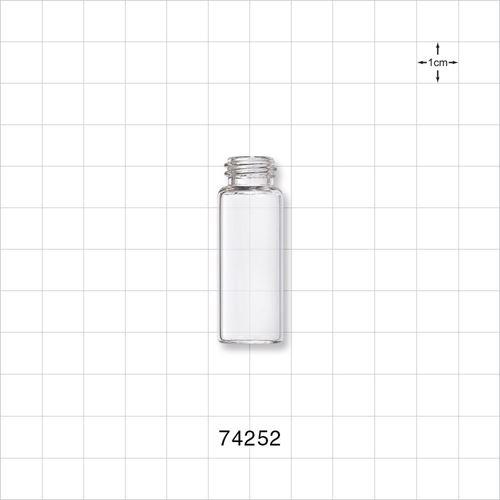 Glass Bottle, Clear - 74252