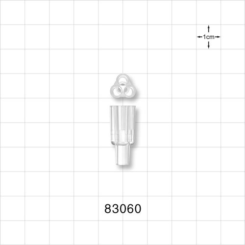 Parallel Trifurcated Y Connector - 83060