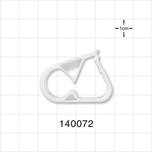 Pinch Clamp, White - 140072