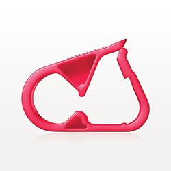 Pinch Clamp, Red - 140322