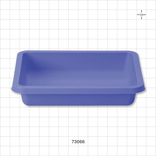 Shallow Tray, Blue - 73066