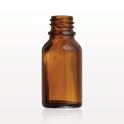 Glass Bottle, Amber - 30087