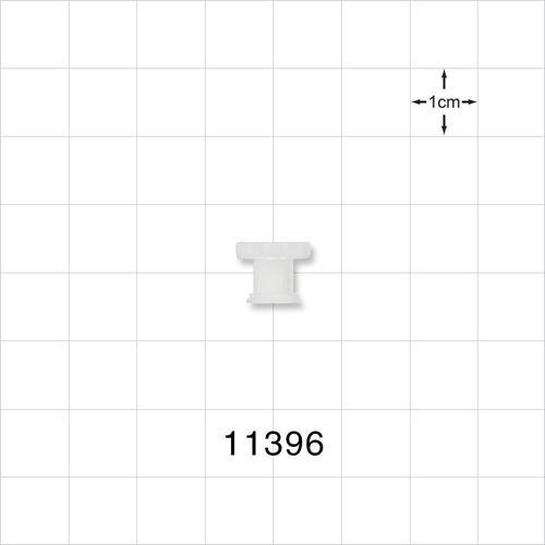 Female Luer Lock Non-Vented Cap - 11396