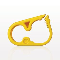 Ratchet Style Pinch Clamp, Yellow - 14087