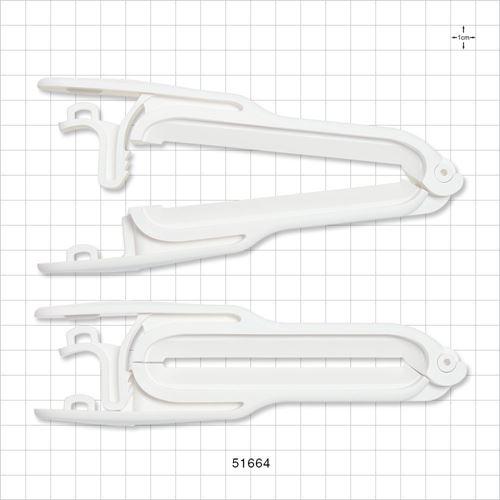 PharmaLok™ Tube Clamp, White - 51664