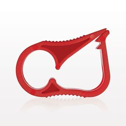 Ratchet Style Pinch Clamp, Red - 14106