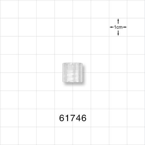 Luer Lock Ring for Male Luer Slips, Natural - 61746