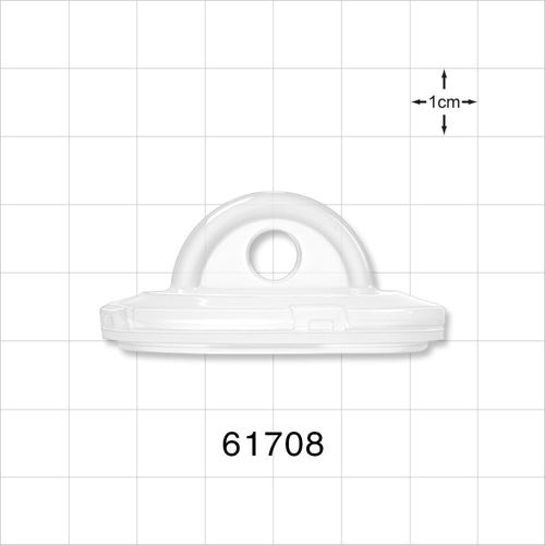 Sanitary Fitting End Cap, Pre-Attached Gasket - 61708